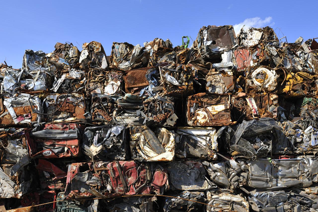 Quy trình tái chế sắt phế liệu cơ bản
