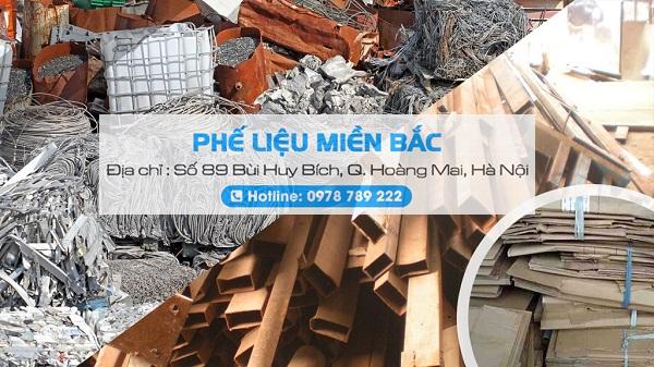 Phế Liệu Miền Bắc chuyên thu mua phế liệu sắt Nhật Hàn