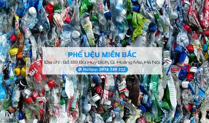 Phế liệu ve chai được thu mua tại đại lý Phế Liệu Miền Bắc