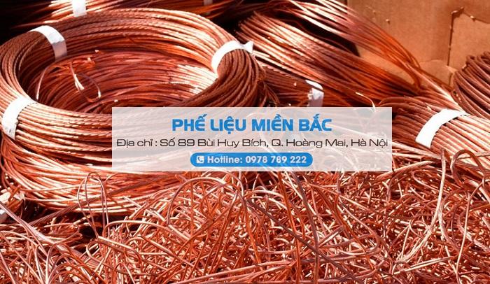 Phế Liệu Miền Bắc chuyên thu mua đồng dây điện ve chai giá cao tại nhà