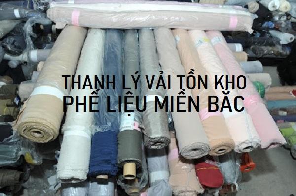 Loại vải tồn kho thực tế được thu mua bởi Phế Liệu Miền Bắc